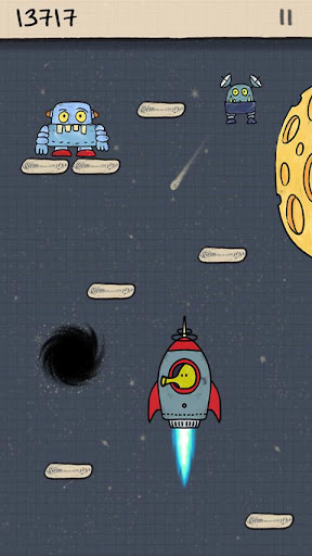 doodle-jump for android screenshot
