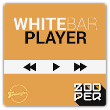 WhiteBarPlayer - Zooper Skin