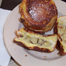 Banana-Stuffed French Toast Sunday Morning Yummy!