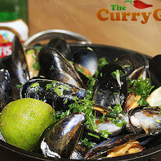 Spiced Steamed Mussels In Kingfisher Beer