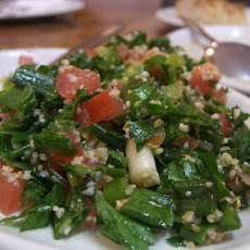 Tabouli (Lebanese Bulghur, Parsley, and Mint Salad)