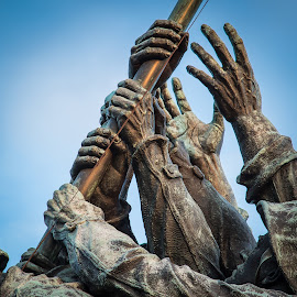 13 Hands by David Long - Buildings & Architecture Statues & Monuments