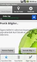 Screenshot of Pratik Bilgiler Rehberi