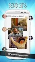 Screenshot of Relay GIF Messenger