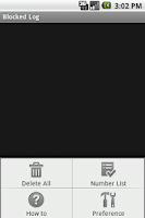 Screenshot of Advanced Call Filter