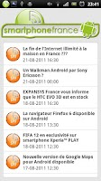 Screenshot of Smartphone France