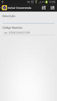 Screenshot of Rastreio Correios