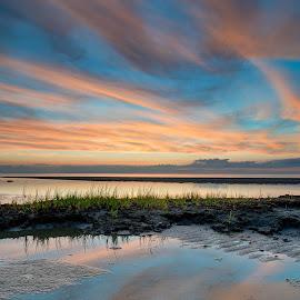 by Steve Morrison - Landscapes Sunsets & Sunrises ( orleans, skaket beach, sunset, cape cod )
