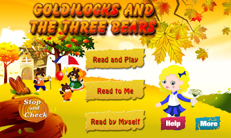 Screenshot of Goldilocks and the Three Bears
