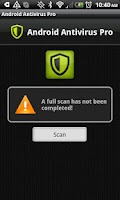 Screenshot of Android Antivirus Pro