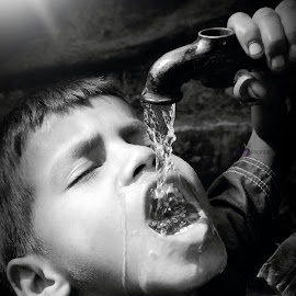 Water is life.. by Pranab Sarkar - Babies & Children Children Candids