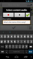 Screenshot of ZEITGEIST Reminder App