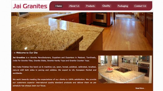 Granites Supplier Export India - screenshot