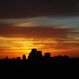 Silhouette of a city  by Heather Donahue - Buildings & Architecture Office Buildings & Hotels