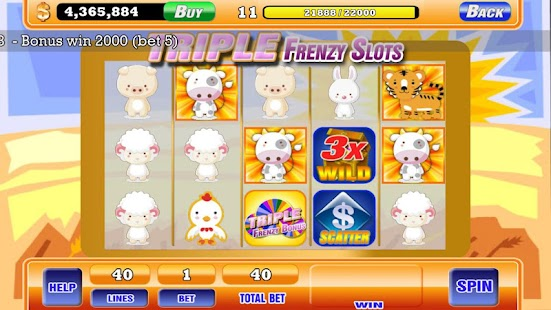 Frenzy Slots - Animal Slots - screenshot