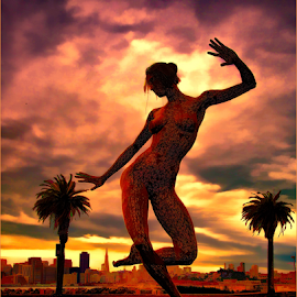 Bliss from Burning Man 2010 by David Baker - City,  Street & Park  City Parks