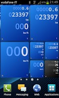 Screenshot of Drivers Widget - Speedometer