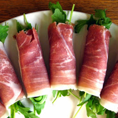 Beef, Apple & Arugula Appetizers