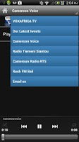 Screenshot of Cameroon Radio FREE