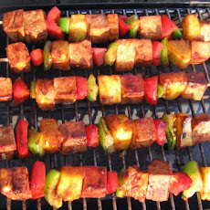 Polynesian Tofu Skewers With Pineapple (Veg*n Kebabs)