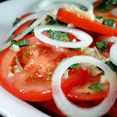 Insanely Easy Tomato Salad