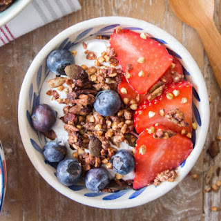 Buckwheat and Ginger Granola