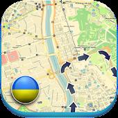 APK App Ukraine && Krim Offline Map POI for BB, BlackBerry