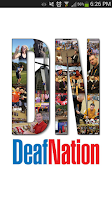 Screenshot of DeafNation