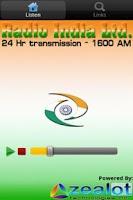 Screenshot of Radio India Live