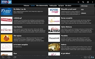 Screenshot of tvp.pl