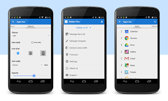 Screenshot of Sidebar Plus (Multi-bars)