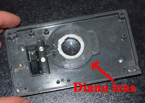 04 - Pannello posteriore con lente