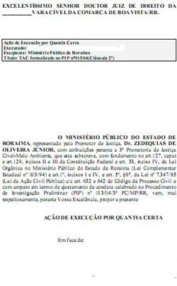 modelo de petição inicial de execução