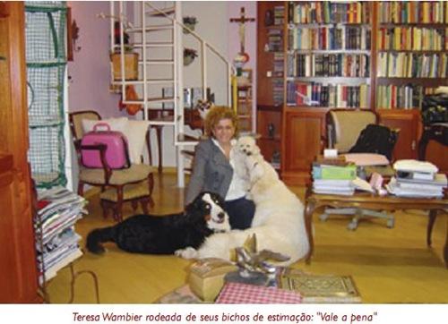 Teresa Arruda Alvim Wambier e seus Animais.