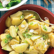 Tangy Potato Salad with Scallions