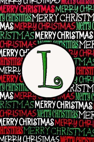 聖誕節的Monogram大號現場可濕性粉劑