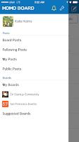 Screenshot of MOMO Board