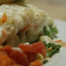 Salmon and Broccoli Lasagna