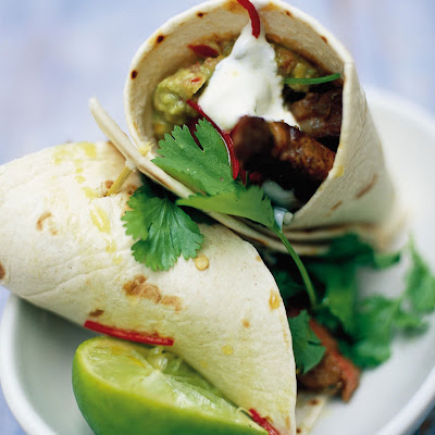 Steak & Guacamole Wrap