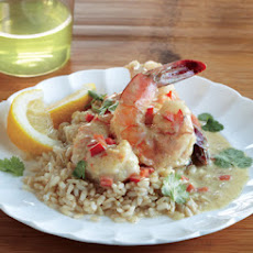 Curry-Coconut Shrimp
