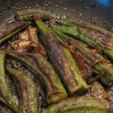 Easy Indian Style Okra