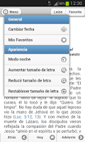 Screenshot of Texto Diario 2014