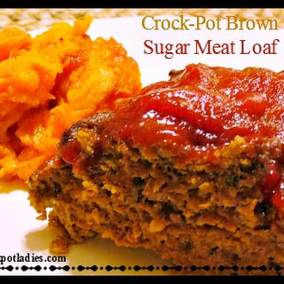 Crock-Pot Brown Sugar Meatloaf