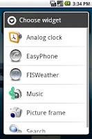 Screenshot of Easy Phone