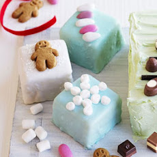 Festive Fondant Fancies
