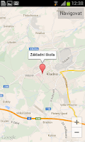 Screenshot of ZŠ Amálská Kladno