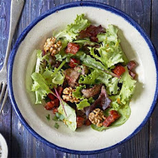 Chicken Liver & Chorizo Salad