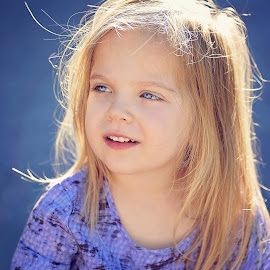 Golden hair by Lucia STA - Babies & Children Child Portraits
