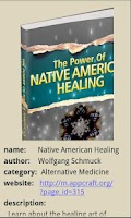 Screenshot of Native American Healing