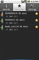 Screenshot of Call Recorder Full Free